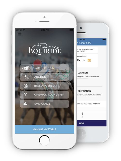The best ideas and inventions are usually born out of the necessity to fix or improve a situation, and new horse transportation app EQUIRIDE seeks to do just that.  The