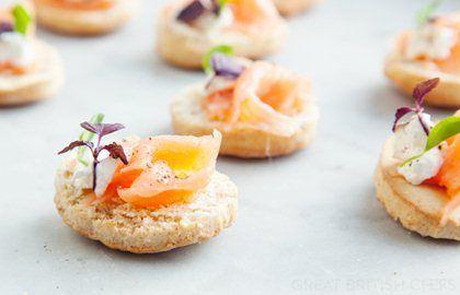Smoked Salmon Canapé Recipe - Great British Chefs