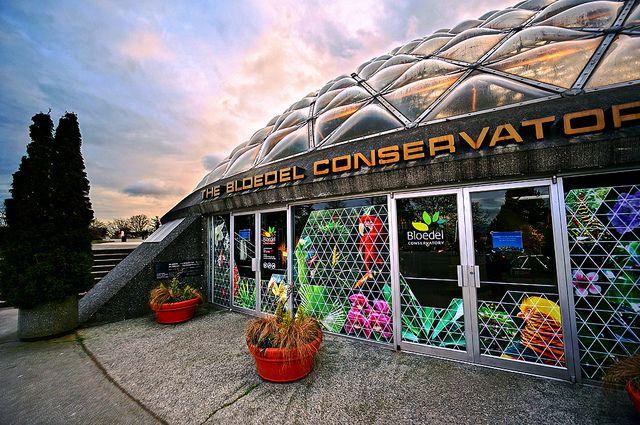 Bloedel Conservatory in Queen Elizabeth Park by TOTORORO.RORO, via Flickr