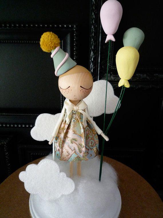 Questa è la lista per un Custom Birthday Cake Topper per un ragazzo o una ragazza. Si prega di consentire circa 4 settimane per il