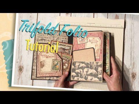 Trifold Folio Tutorial - YouTube