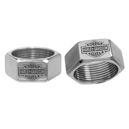 Harley Davidson Wedding Rings On Men S Submited Pinterest
