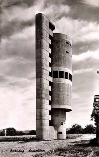 Water Tower (1959-61) | Backnang, Germany | Helmut Erdle