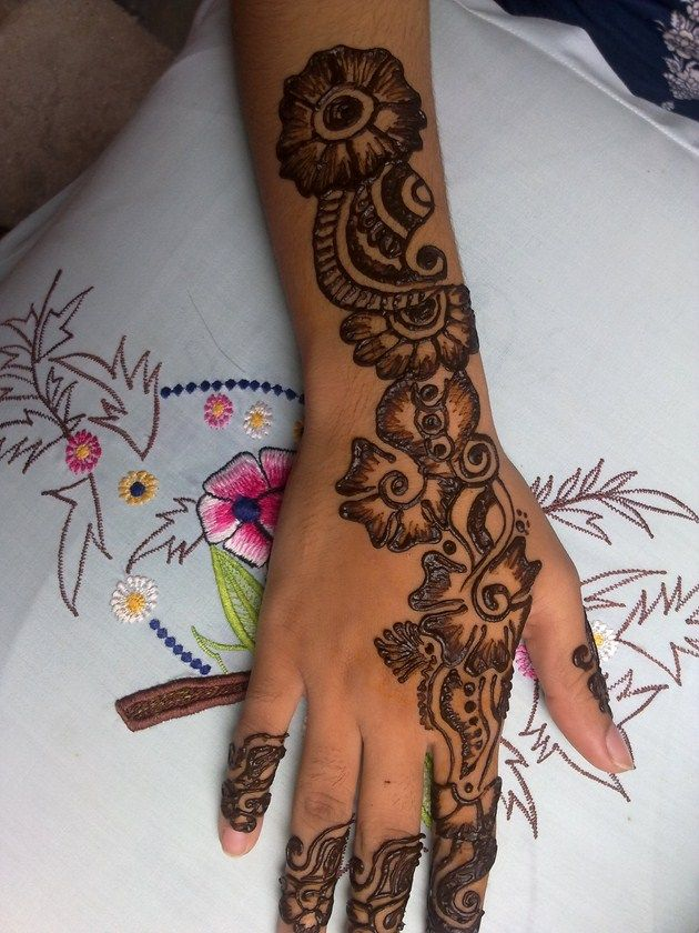 Latest Mehndi Designs Collection 2013