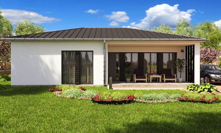 case mici cu doua dormitoare Small two bedroom house plans 9