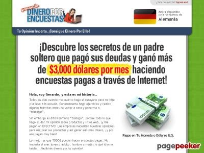 Product Name: Ganando Dinero por Encuestas      (adsbygoogle = window.adsbygoogle || []).push();  Click here to get Ganando Dinero por Encuestas at discounted price while it's still available…    All orders are protected by SSL encryption – the highest industry standard for...