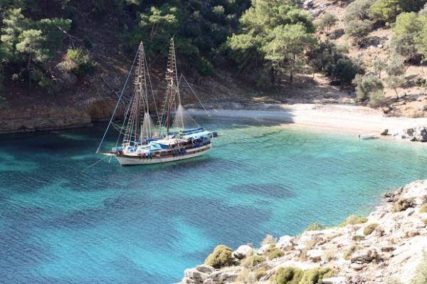 Bozburun Peninsula, Turkey - one of 3 secret places in Europe: http://www.ytravelblog.com/3-secret-sun-sea-sand-destinations-europe/