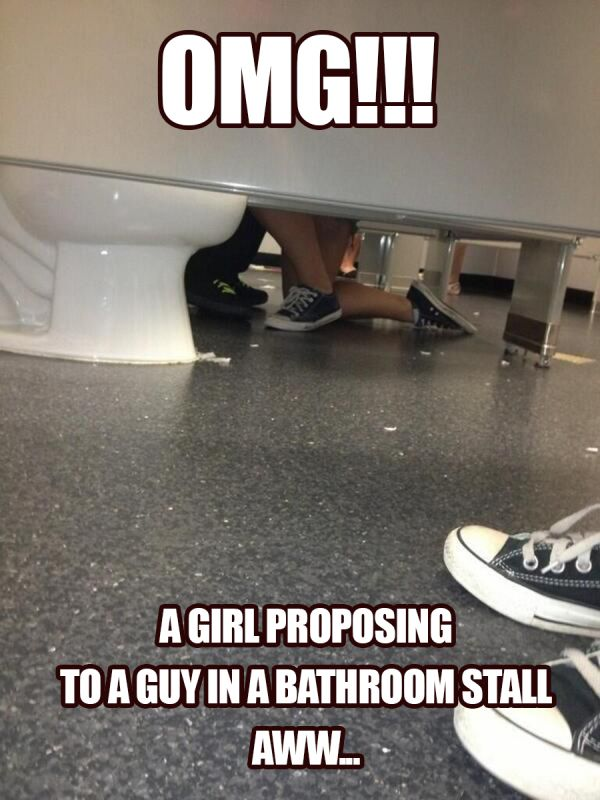 Public Bathroom Fails (can't look away!)... All of these are pretty amazing. Enjoy! and be thankful you're not one of these people.