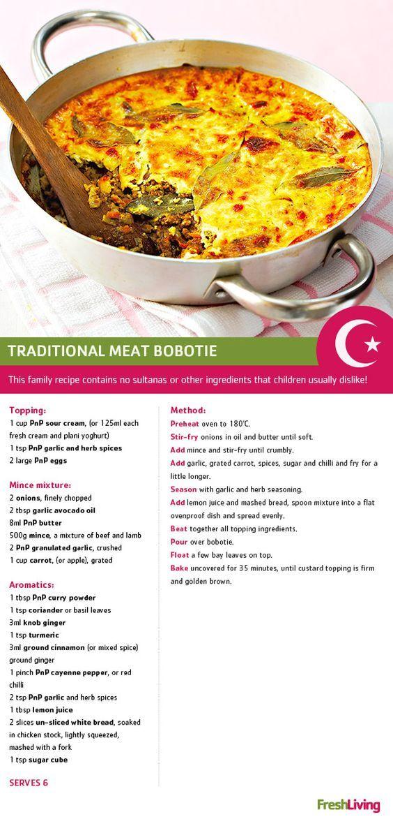 bobotie dish lunch