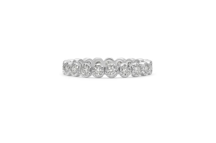 Cushla Whiting - KARLA wedding band #cushlawhitingrings #weddingbands