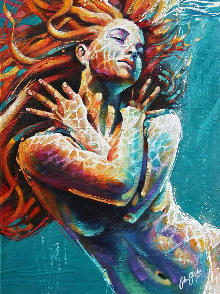 1295 Best Beautiful Mermaid Art Images On Pinterest