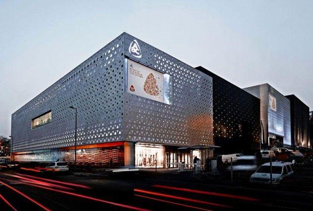 25 best mall facade ideas on pinterest. Black Bedroom Furniture Sets. Home Design Ideas