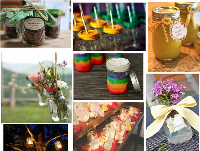 1000 images about mason jars on pinterest craft beer for Cool things to do with mason jars