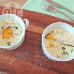 Creamy Baked Eggs with Smoked Salmon @ allrecipes.com.au