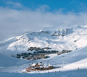 Val Thorens, France Highest Ski Resort of the 3 Valley ski area