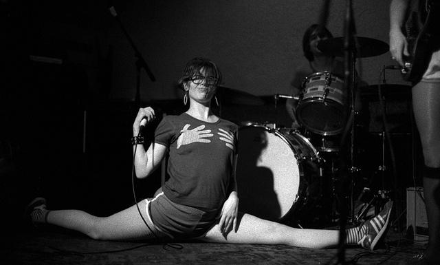 Allison Wolfe   Partyline, Bratmobile, Cool Moms, Deep Lust