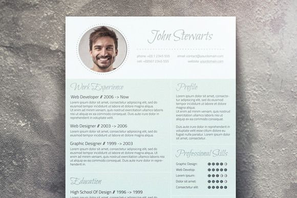 Fresh CV + Cover Letter by Visual Impact on @creativemarket