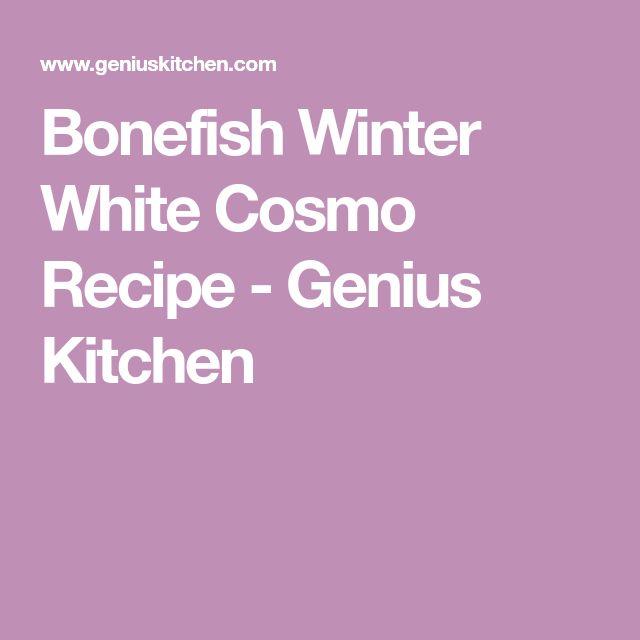 Bonefish Winter White Cosmo Recipe - Genius Kitchen