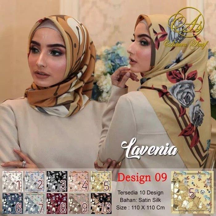 Pg Jilbab Segi Empat Satin Motif Bunga Lavenia Dua Sisi Seri 09 Bisa Gonta Ganti 2 Motif Dalam 1 Jilbab Segi4 Bahan Satin Selendang Kerudung Baju Muslim