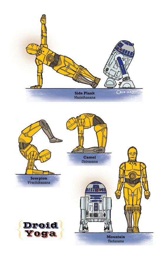 Star Wars Guide to Yoga