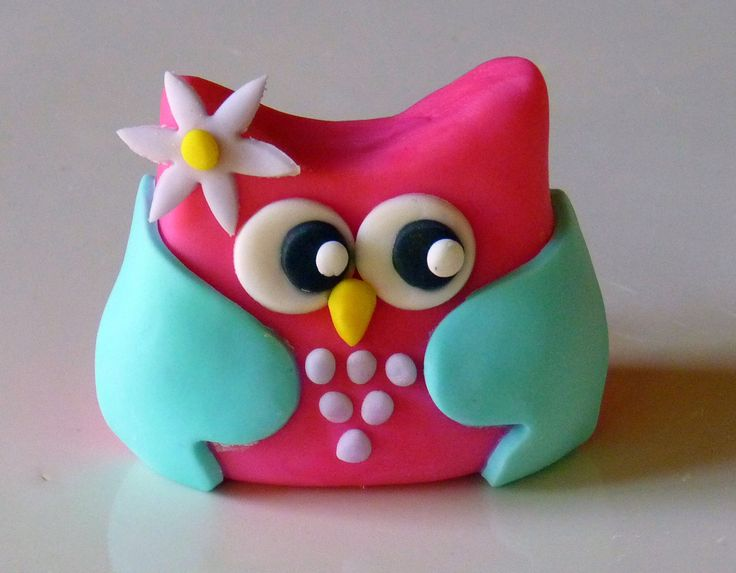 Owl topper- great colours
