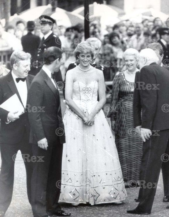 .On Monday June 29th in 1987, Prince Charles and Princess Diana attended the premiere of the new James Bond 'The Living Daylights, at the Odeon cinema in Leicester Square, London.