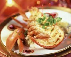 Homard grillé de Noël - Une recette CuisineAZ