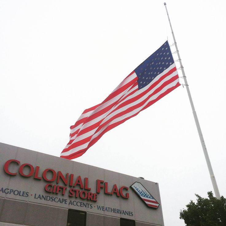 May 15, 2015 is Peace Officer Memorial Day. POTUS has asked that we fly the flag at half staff today in honor of those men and women. #peaceofficermemorialday #police #serveandprotect #america #usa #colonialflag #flag #usflag #halfstaff #halfstaffflag