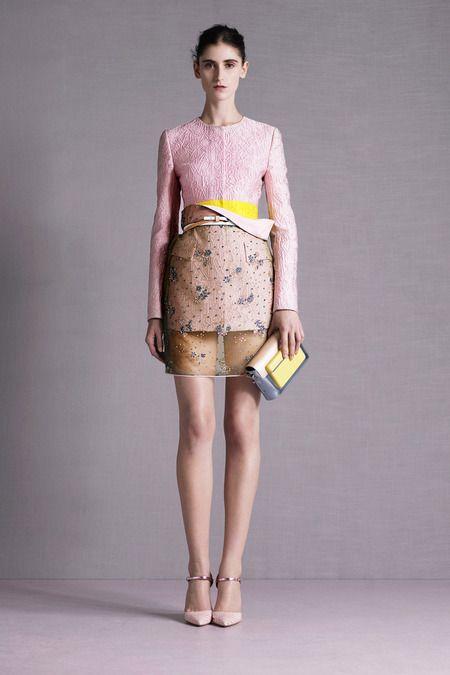 pink+yellow RESORT 2015 Mary Katrantzou