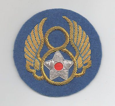 US Army 8th Air Force patch wire embroidered