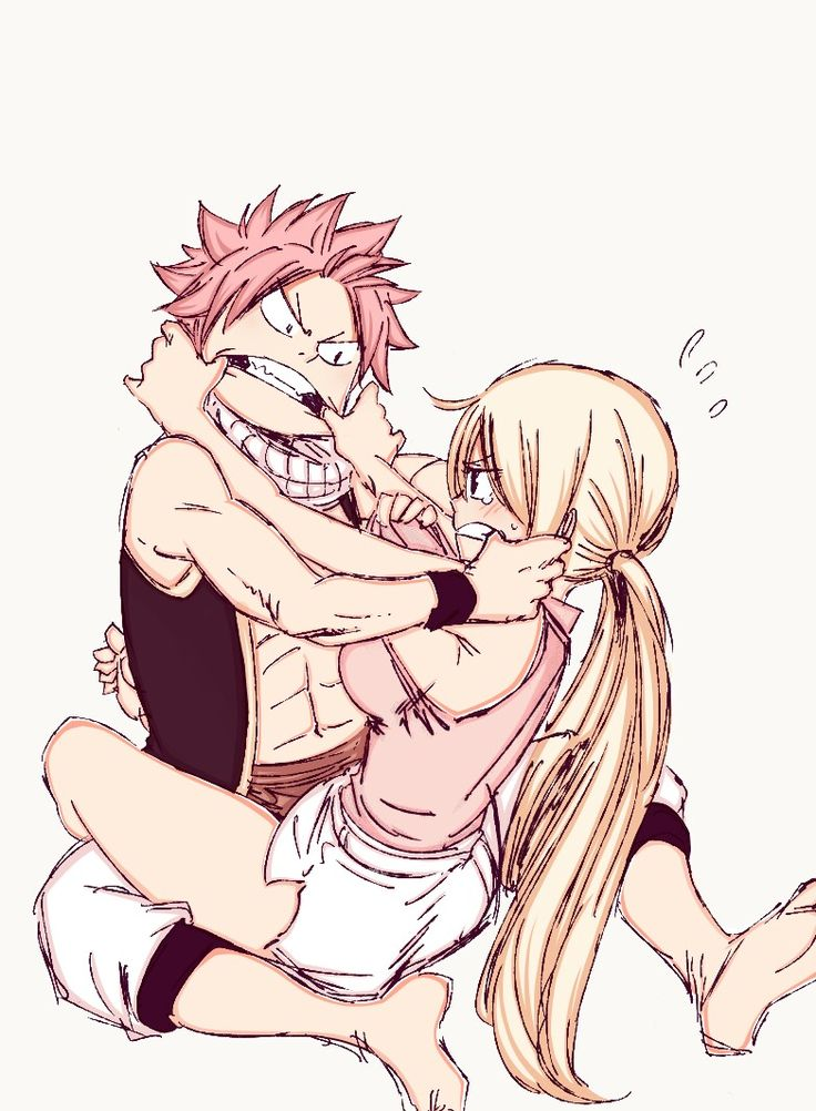 Fancolor | Natsu Dragneel and Lucy Heartfilia | Nalu || Fairy Tail