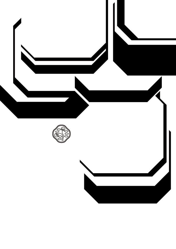 SEVEN LIGHTS POWDER ILLUMINATOR | Toyoki Kataita 片板 豊樹 | Poster Exhibition 2017.1.5-3.24@Ginza Communication Space : LUMIÈRE Light/Powder/Art Deco 1917→2017→ 「光/白粉/アール・デコ 1917→2017→」  Graphic Design グラフィックデザイン