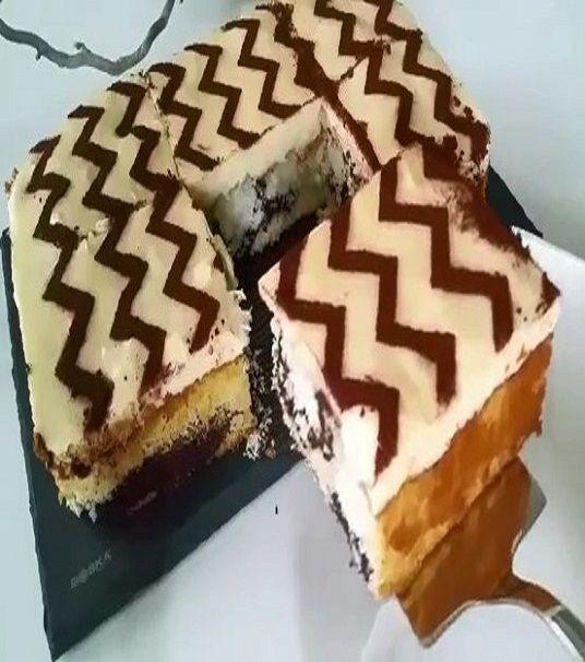 Hindistan Cevizli Sürpriz Pasta
