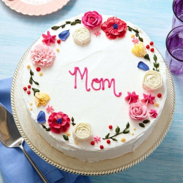 27 Pretty Photo Of Birthday Cake For Mom With Images Cute