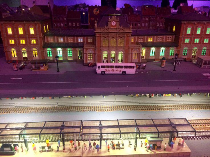 Рождественский музей с поездами в Норвегии 🤗🚂☃️🎄👏😀