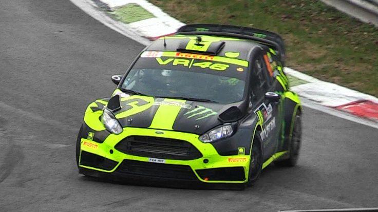 Video: Valentino Rossi bei der Monza Rally Show