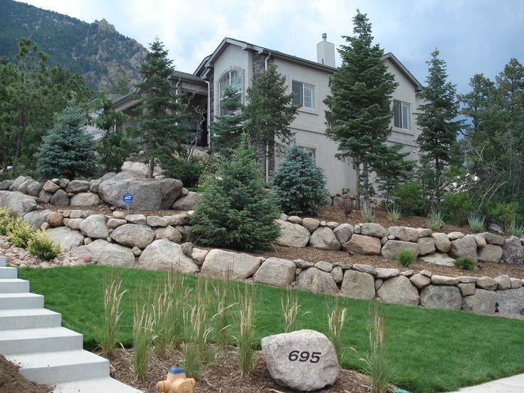 Backyard Landscaping Colorado Springs : Commercial landscaping construction in colorado springs