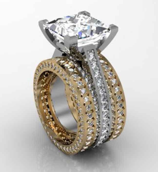 12 best custom wedding rings images on pinterest custom wedding custom wedding rings junglespirit Gallery