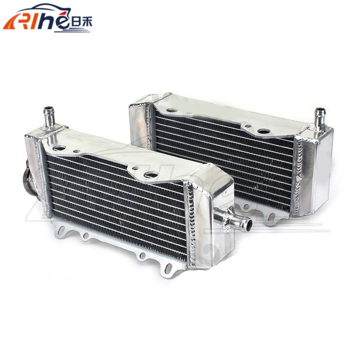 184.04$  Watch now - http://ali1xb.worldwells.pw/go.php?t=32562288973 - hot selling motorcycle accessories radiator cooler aluminum motorbike radiator For Suzuki RMZ 250 RMZ250 2004 2005 2006 184.04$