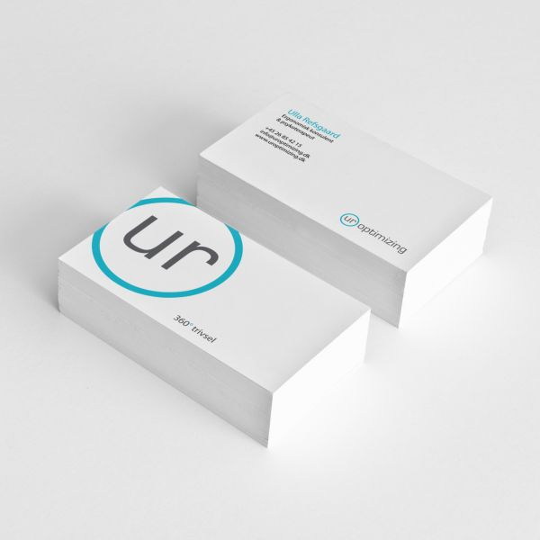 UR Optimizing business cards. By byDesign