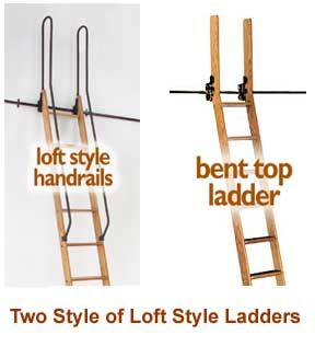 Custom-built Library Ladders - Rolling Library Ladder - Wood & Metal -