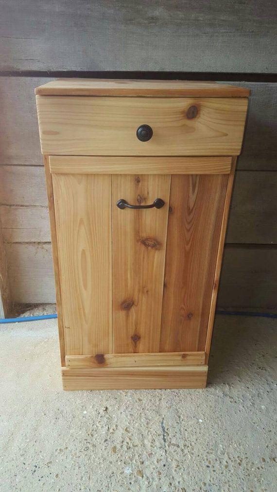17 best ideas about trash can cabinet on pinterest hidden trash can kitchen diy wood and. Black Bedroom Furniture Sets. Home Design Ideas