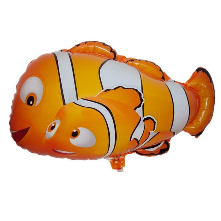 [Visit to Buy] XXPWJ Free shipping the new  aluminum film balloon toy for children birthday party clown fish wholesale balloons #Advertisement