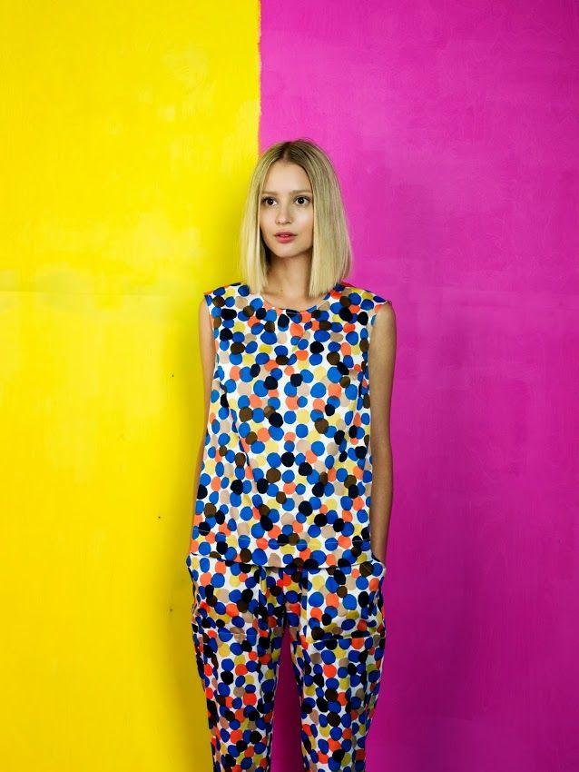 Burst of colour by Marimekko