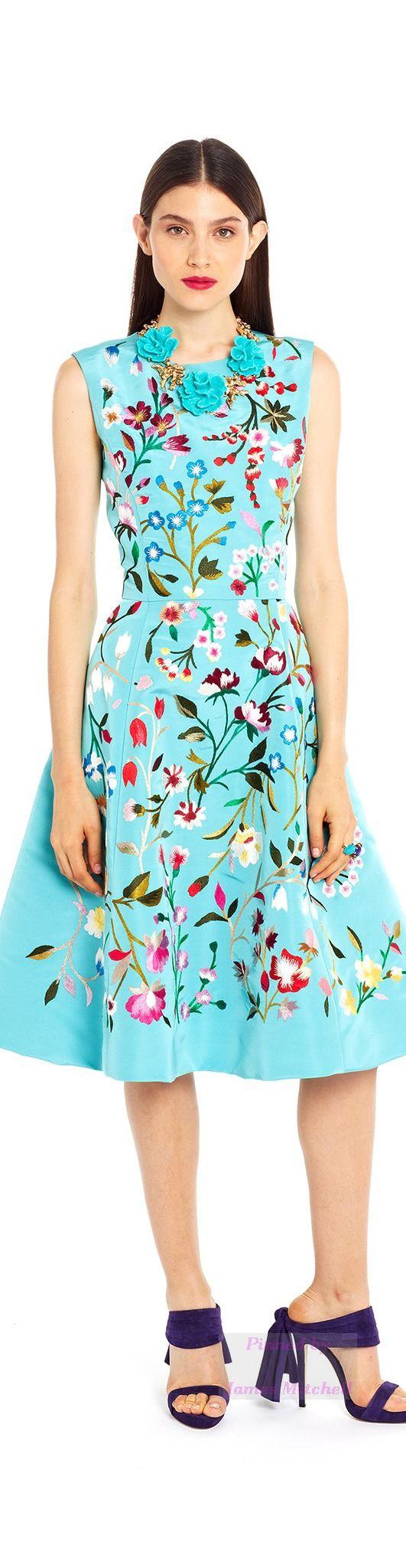 Oscar de la Renta Collection Spring 2015 Ready to Wear