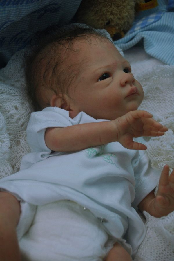 Cute Reborn Baby Doll Soft Silicone 18 Inch Handmade Baby: Pin By Candy Gofmanas On Dolls: Real Looking