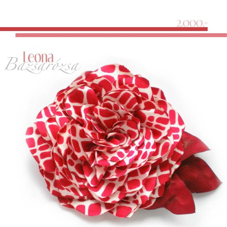 vörös, virág, Bazsarózsa, kitűző, hajdísz,