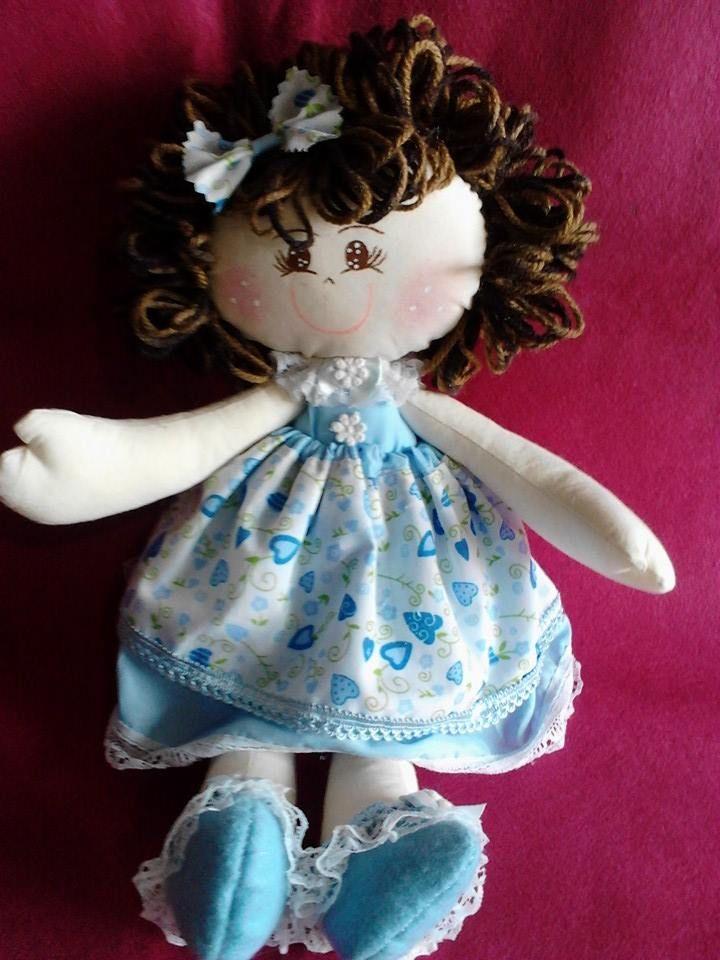 bonecas fofas,com feltros santa fé