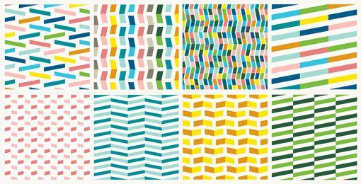 STRIPES AND COLORSGraphics Ideas, Design Work, Rhyl Identity, Graphics Design, Black White, British Seaside Fabrics, British Design, Seaside Town, Quilt Pattern