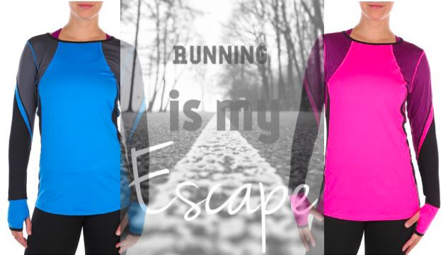 Get style and comfort in Pure Lime long sleeve running top. It is designed to make you perform and look your best.